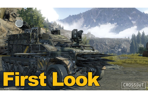 Crossout Gameplay First Look - MMOs.com - YouTube
