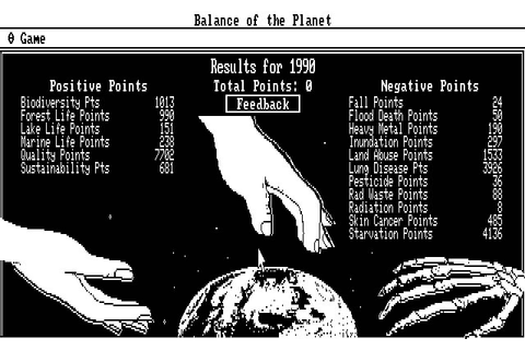Download Balance of the planet simulation for DOS (1990 ...