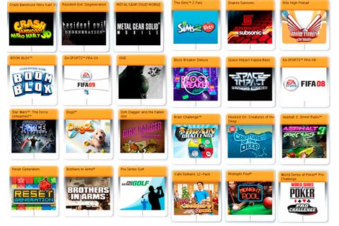 SIMPLICITY: Download N-Gage 2.0 Gameloft Games Pack