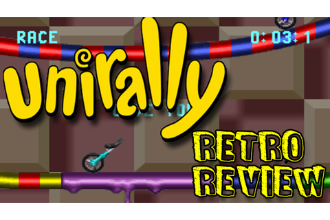 Unirally (SNES) Retro Game Review | Retro, Retro gaming ...