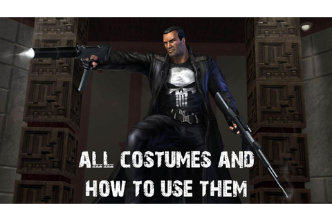 The Punisher (The Game) - All Outfit Cheats and How to use ...