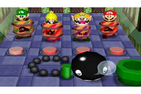 Mario Party 2 - Mini-Game Stadium (2 Players) - YouTube
