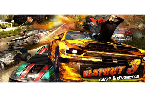 Flatout 3 Chaos And Destruction Free Download PC Game
