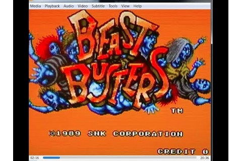 Beast Busters On MAME - YouTube