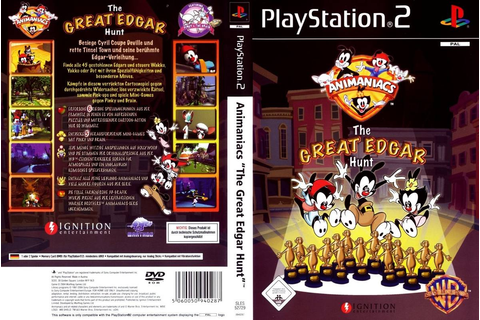 Animaniacs The Great Edgar Hunt - R$ 15,00 em Mercado Livre