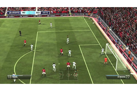 FIFA 13 Gameplay - Real Madrid vs. Manchester United (Full ...