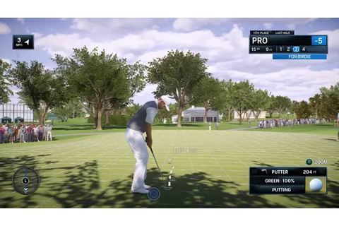EA SPORTS Rory McIlroy PGA TOUR | Quick Rounds Gameplay ...