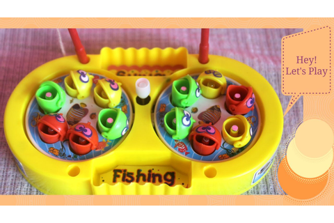 Fishing Toys Game! Colorful Fishes Catching Toy Magnet ...