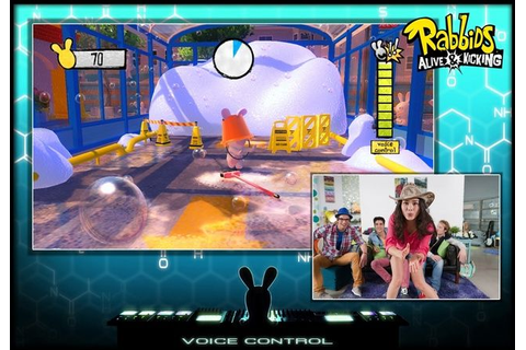 Raving Rabbids Alive and Kicking review (Xbox 360 Kinect)