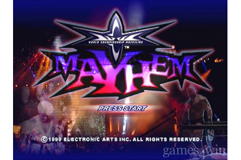 WCW Mayhem Download