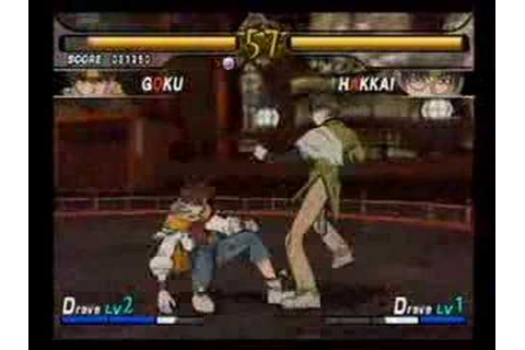 Saiyuki Reload Gunlock PS2 Game Video 2/6 - YouTube