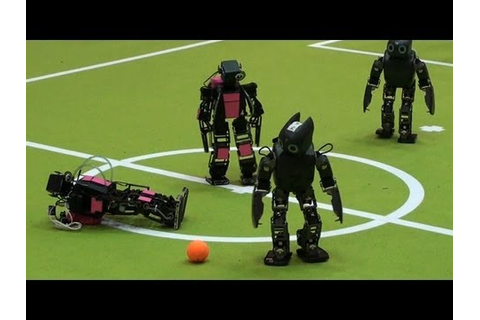 Robot Soccer Goes Big Time - YouTube