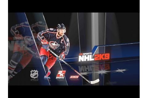 Hockey Game History - NHL 2K9 - YouTube