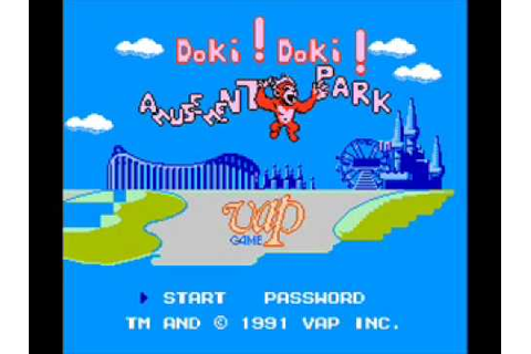 Doki! Doki! Yuuenchi AKA Amusement Park NES Music 11 - YouTube