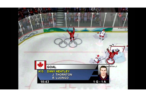 NHL 2004 CAN vs RUS gold medal game | part 1 - YouTube