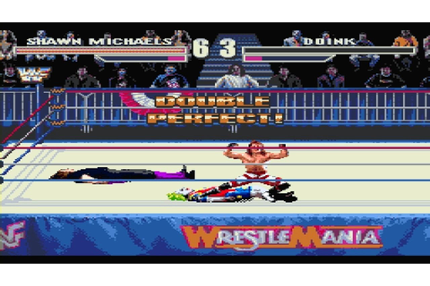 WWF Arcade Game Sega Genesis Shawn Michaels Road To ...