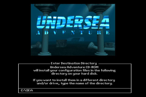 Undersea Adventure Download (1993 Educational Game)