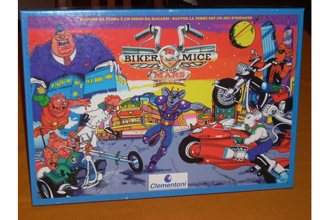 Biker Mice From Mars | Board Game | BoardGameGeek
