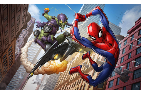 Spider-man the animated series by PatrickBrown on DeviantArt