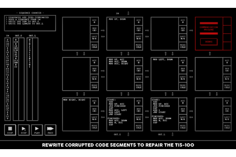 TIS-100 Windows, Mac, Linux game - Indie DB