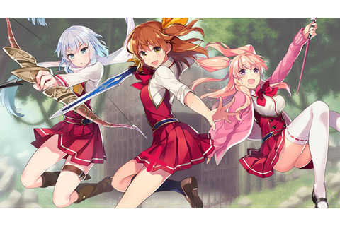 Oppai roguelike RPG Omega Labyrinth announced for PS Vita ...
