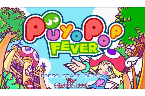 Puyo Pop Fever (2004) by Sonic Team PSP game