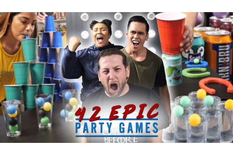42 EPIC PARTY GAMES | Fun For Any Party! - YouTube