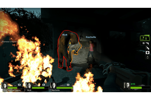 Flashlights Off! - A Left 4 Dead 2 Game Review - HCI Games