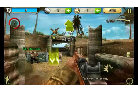 Brothers In Arms 2 Android Game Play (HD) - YouTube