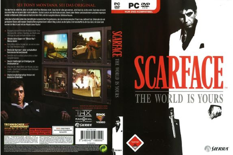 Scarface: The world is yours Torrent « Games Torrent