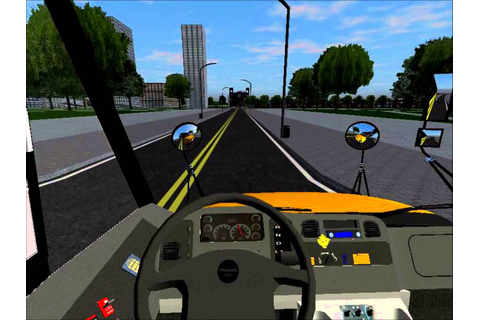 Rigs of Rods School Bus Driving - Thomas Saf-T-Liner C2 ...