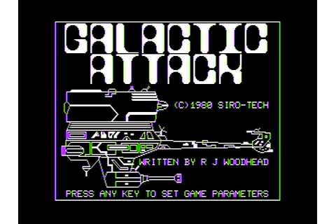Download Galactic Attack (Apple II) - My Abandonware