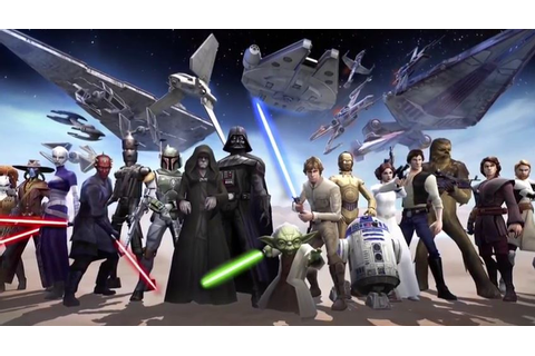 New Star Wars: Galaxy of Heroes mobile game revealed
