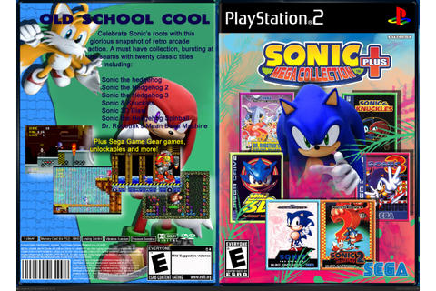 Sonic Mega Collection Plus PlayStation 2 Box Art Cover by ...