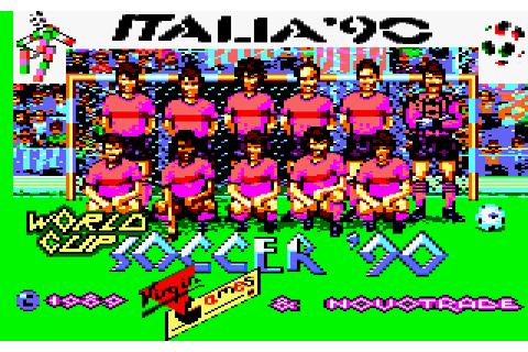 World Cup Soccer: Italia '90 (1990) by Probe Software ...