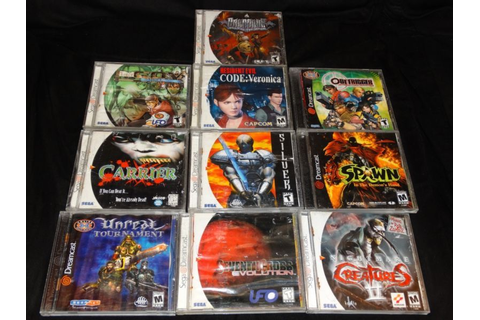 10 Dreamcast Games #retrogaming #HotDC Spawn Resident Evil ...