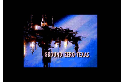 Ground Zero Texas Sega CD Game