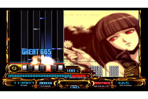 beatmania IIDX 13 DistorteD - Why did you go away [ANOTHER ...