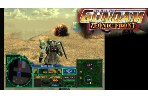 Mobile Suit Gundam: Zeonic Front ... (PS2) - YouTube