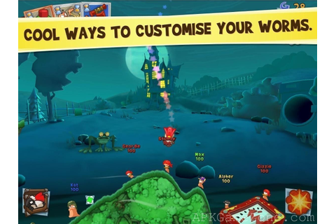 WORMS 3 : VIP Mod : Download APK - APK Game Zone - Free ...