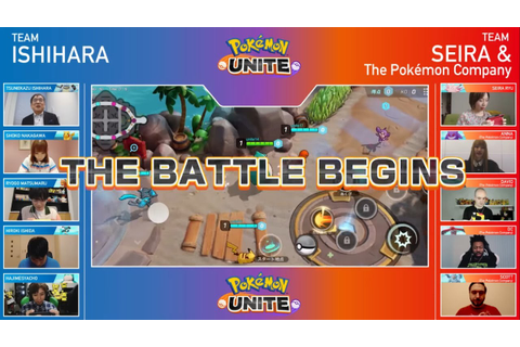 Pokemon Unite Game Play and Coming Soon - YouTube