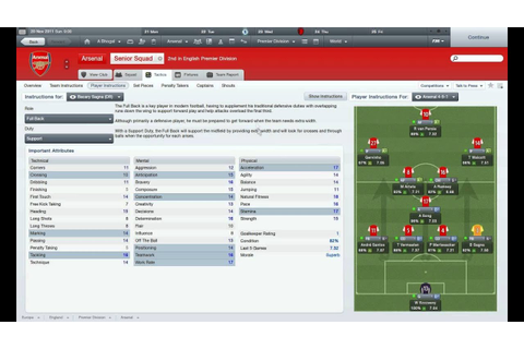 Football Manager 2012 | Helpful Tactics! | My Tactics: 4-5 ...