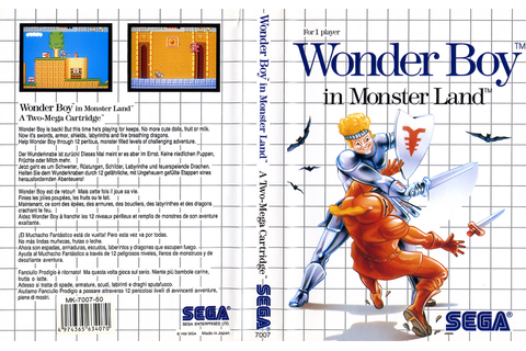Wonder Boy in Monster Land / Super Wonder Boy Monster ...