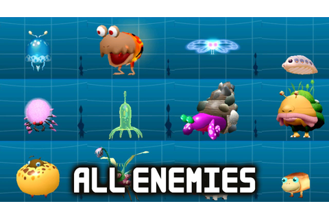 Hey! Pikmin - All Enemies (Full Creature Log) (English ...