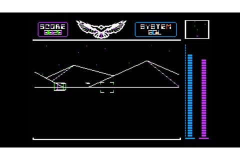 Stellar 7 for the Apple II - YouTube