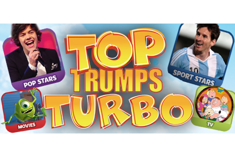 Save 70% on Top Trumps Turbo on Steam