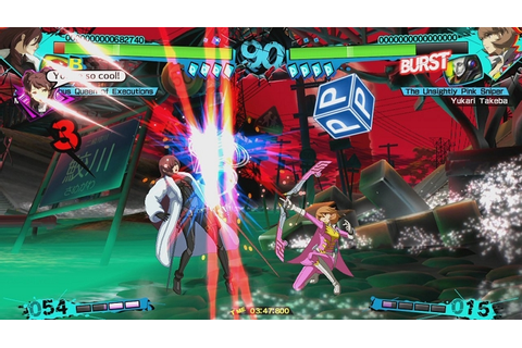 Persona 4 Arena Ultimax Xbox 360 game