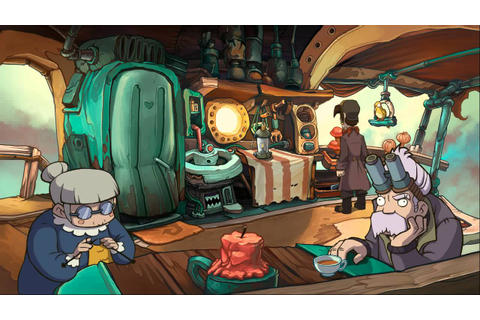 Deponia 2: Chaos on Deponia (Part 1) HD - YouTube