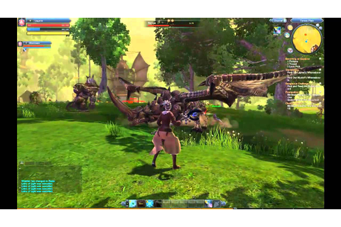 RaiderZ Online Gameplay - YouTube
