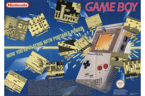 Nintendo Game Boy - Now you're playing with portable power ...